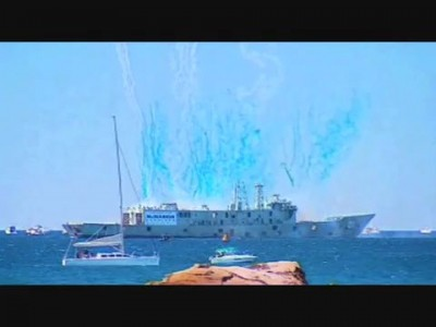 Как умирают корабли - HMAS Adelaide Scuttling