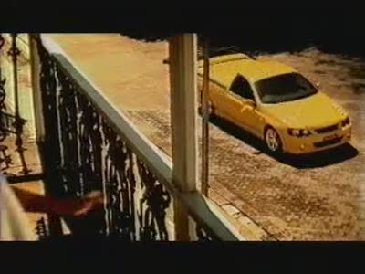 Ford Falcon XR8 Ute Commercial