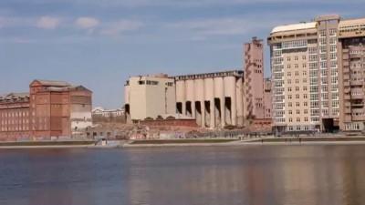Снос здания мукомольного завода в Екатеринбурге