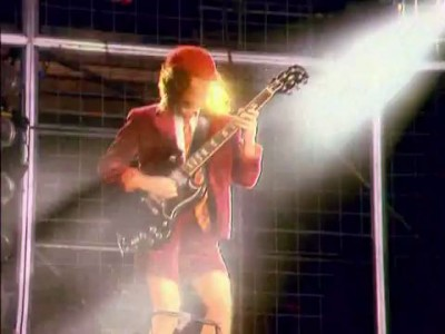 AC/DC - Thunderstruck - Angus Young - (Live Donnington)