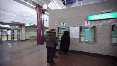 Пингвины в метро город Санкт-Петербург