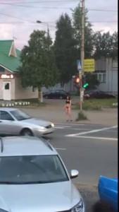 Архангельск. На девчонок засмотрелись