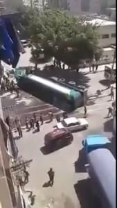 Вспыхнувший бензовоз поджег половину улицы в Египте