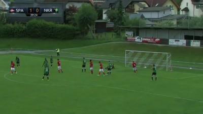 Гол Квинси Промеса в ворота Рудара (2:0)