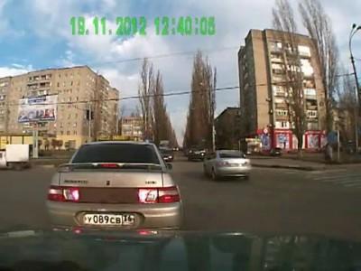 Воронеж, ППС против ГИБДД