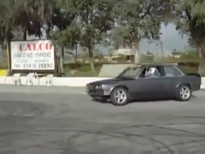 Дрифт: один водитель, две машины