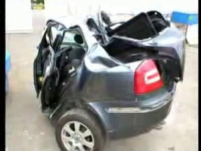 Нарезка авто-аварий