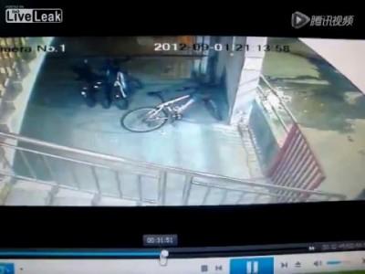 Велоугонщика жестоко наказали