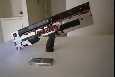 Классная автоматическая пушка Гаусса
