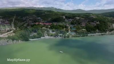 Озеро Абрау-Дюрсо Аросъемка Phantom 4
