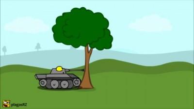 Злые танки. Angry tanks.