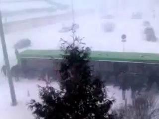 "Циклон ""Хавьер"" в Минске 15.03.2013."