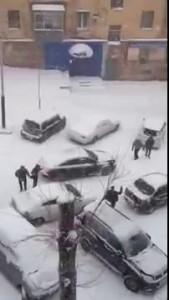 Хабаровск - гололед