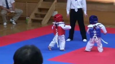 The Best Taekwondo Fight EVER!!!! The Cutest Thing Ever !!!!