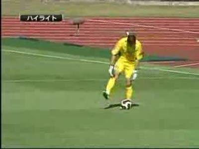 Классный гол в японском футболе