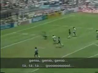 Диего Марадона. Лучший гол в истории футбола