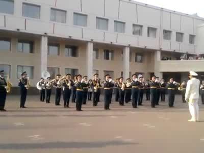 Ганг-нам-стайл в исполнении оркестра министерства обороны