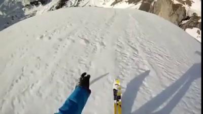 лыжи парашют