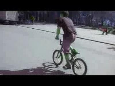 Самоходный велосипед