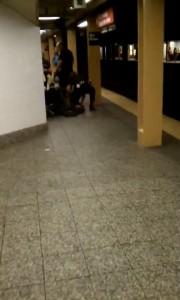 Полиция в метро