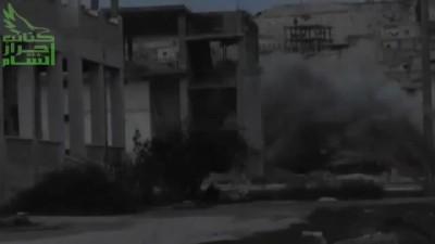 Сирия, подрыв БТР