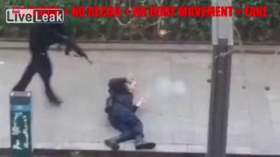Теракт в Париже - грубый фейк