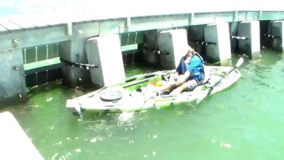 Cape Coral Man lands Largest Kayak Bottom Fish Ever!