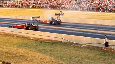 MELANIE TROXEL TOP FUEL DRAGSTER SETS 1000 FT RECORD AT CORDOVA 4.04@290.44