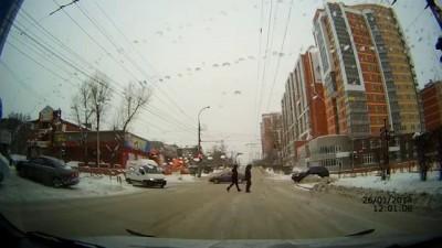 ДТП в Москве 26 01 14