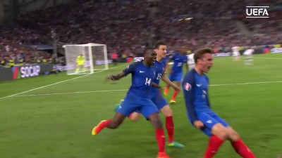 Antoine Griezmann's EURO 2016 goals