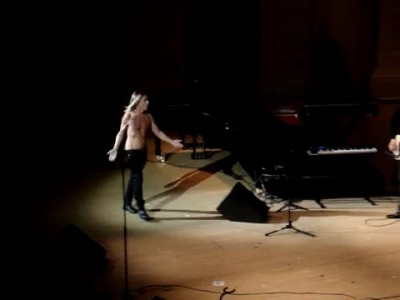 Iggy Pop's Last Stage Dive, Carnegie Hall
