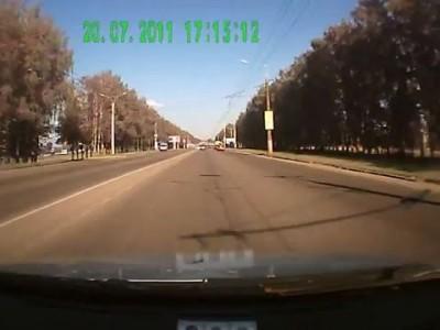Подстава на дороге