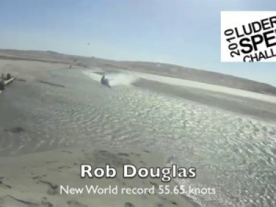 Rob Douglas run 55.65 knts