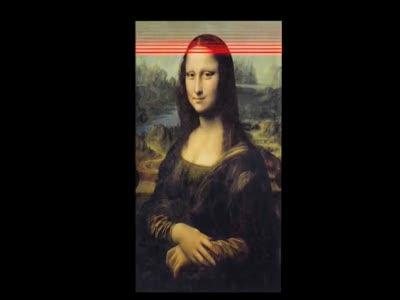 Leonardo da Vinchi in 3D