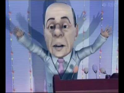 Мульт личности. Новогоднее Оливье-шоу 2010  Берлускони
