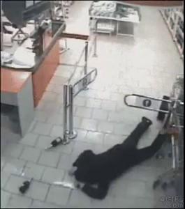 Камера охраны магазина
