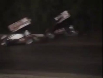 Tony Stewart Hits Sprint Car Driver Kevin Ward Jr (VIDEO) Canandaigua Motorsports Park 2014