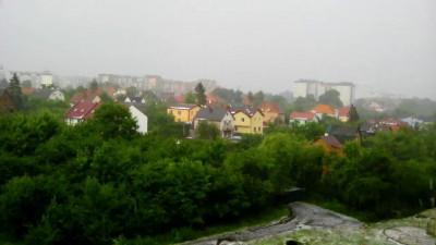 После града в Калининграде