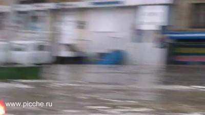Челябинск. После ливня 14 июля 2012 года.