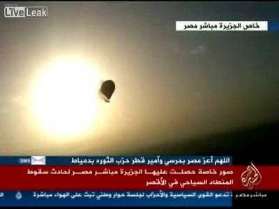 В Египте упал воздушный шар