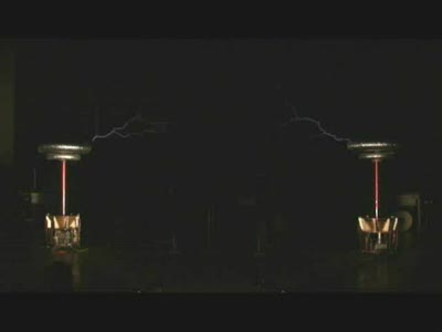 Zelda on Tesla coils