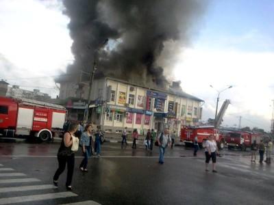 пожар в сергиевом посаде