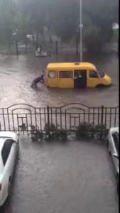 ВДВ и Маршрутка. Потоп в Кургане на день ВДВ