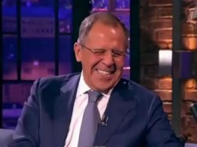 Сергей Лавров (Прикол на телепередаче Вечерний Ургант)