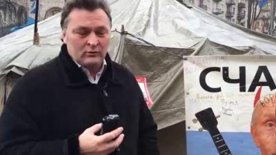 Путин на Майдане в Киеве