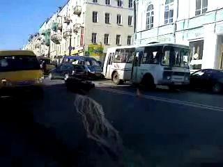 Авария на Большой Советской в Смоленске