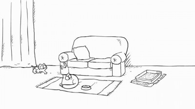 Simon's Cat in 'Double Trouble'