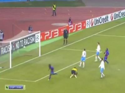 ЦСКА — Трабзонспор 3-0 гол Думбия