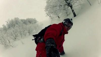 Падения и снег