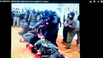 21+ строго Боевики в Сирии расстреляли АРМЯН мирных жителей христиансого городка